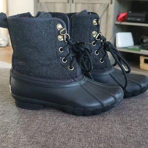 Hilfiger Black Duck Boots